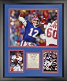 Legenden Sterben Nie Jim Kelly – Buffalo Rechnungen gerahmtes Foto Collage, 40,6 x 50,8 cm von Legends Never Die