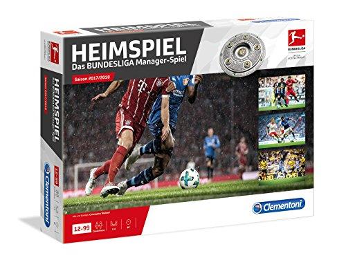Clementoni-590452-HEIMSPIEL-Das-groe-Bundesliga-Manager-Spiel-Saison-1718 Clementoni 59045.2-HEIMSPIEL-Das große Bundesliga Manager-Spiel Saison 17/18 -
