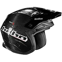 HEBO Trial Zone 4 Carbon Casco, Negro, Talla M