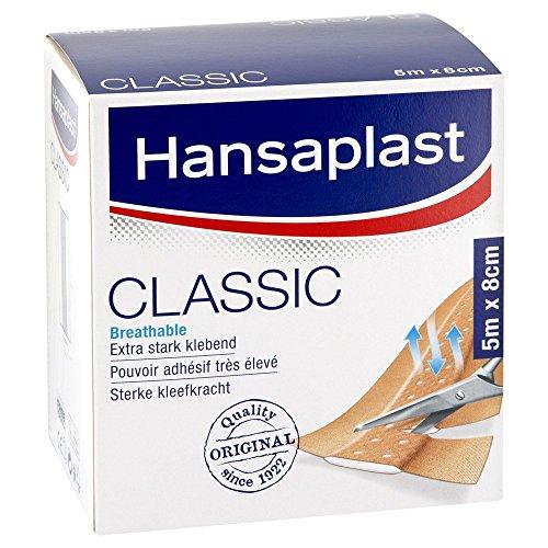Hansaplast Classic Pflaster 8 cmx5 m, 1 St