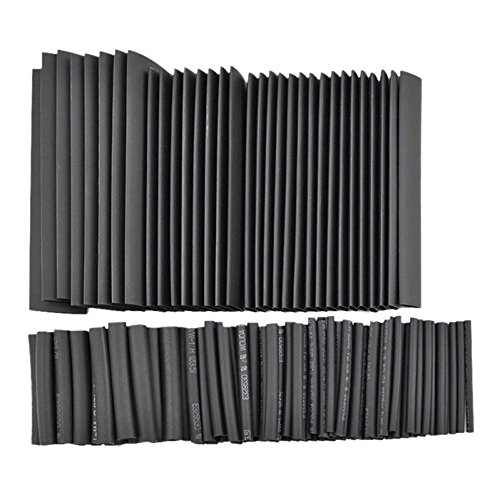 Price comparison product image Efanr 127 Pieces / pack Heat Shrinkable Wire Wrap Tube Assortment 2:1 Shrink Ratio Dual Wall Adhesive Lined Heat Shrink Kit Electrical Insulation Cable Tubing