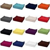 10er PACK Gästetücher / Gästehandtücher 30x50 cm 100% Baumwolle 500 g/m², in Farbe: Natur