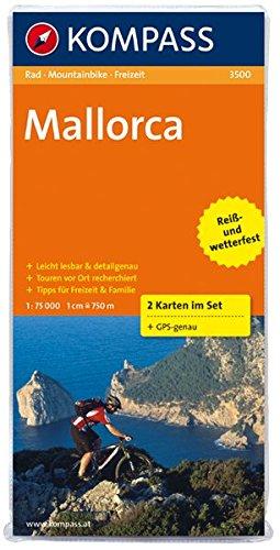 Mallorca: Radkarten-Set. GPS-genau. 1:75000 (KOMPASS-Fahrradkarten International, Band 3500)