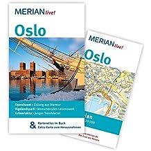 Oslo: Mit Kartenatlas im Buch und Extra-Karte zum Herausnehmen (MERIAN live)