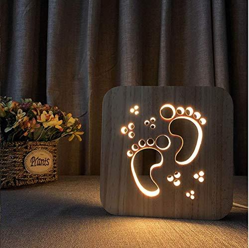 Led-Nachtbeleuchtung 3D Visuelle Lampe Liebhaber Herz Dekor Nachtlicht Ich Liebe Dich USB Tisch Schreibtischlampe Schlafzimmer Led Urlaub ()
