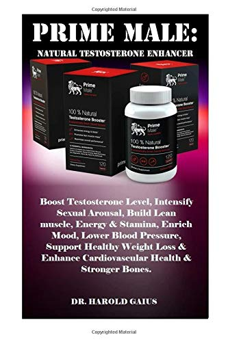 Price comparison product image Prime Male: Natural Testosterone Enhancer: Boost Testosterone Level,  Intensify Sexual Arousal,  Build Lean muscle,  Energy & Stamina,  Enrich Mood,  Lower ... Cardiovascular Health & Stronger Bones.