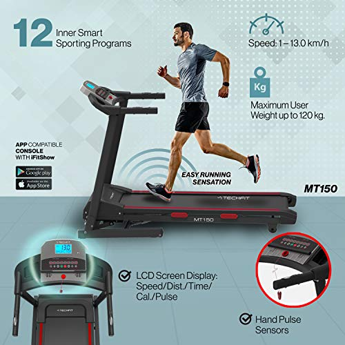 Zoom IMG-1 techfit mt150 tapis roulant professionale
