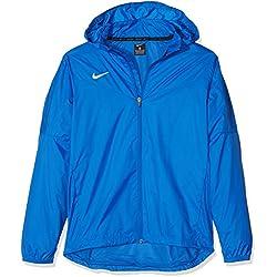 Nike team vêtements Youth (Enfant) 'sideline rain veste pour Unisexe JeuneM Multicolore - Bleu roi/blanc