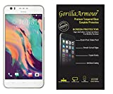 Gorilla Armour Premium Tempered Glass for HTC Desire 10 Pro | 0.3 mm thin, Oil Coated tempered glass for : HTC Desire 10 Pro