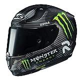 Hjc Monster Energy Motorradhelm Special Rpha 11 Schwarz (Large, Schwarz)