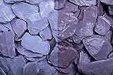 Kies Splitt Zierkies Edelsplitt Canadian Slate lila 30-60mm Sack 20 kg