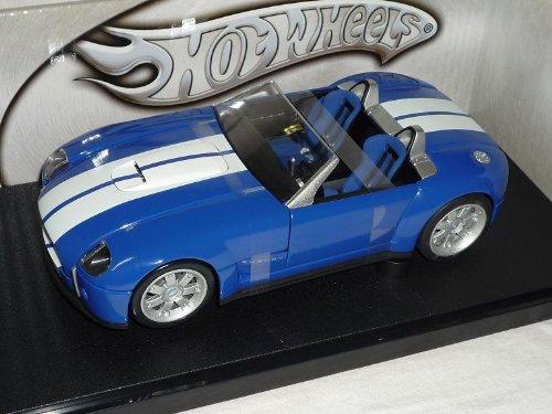 Ford Shelby Cobra Concept 2005 Azul 1/18 coche modelo del coche modelo de Mattel Hot Wheels