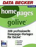 300 Homepages f�r Adobe GoLive. CD- ROM Bild