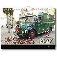 C149-17Kalpa Calendario da Muro 2017Vecchio camion calendari da parete esclusiva collezione 45x