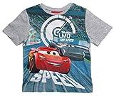 Cars Disney 3 T-Shirt 2018 Kollektion 92 98 104 110 116 122 128 Shirt Kurz Sommer Lightning McQueen Jungen (Grau, 98-104)