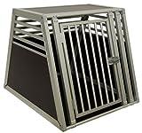 Schmidt-Box Hundebox Einzelbox ALU UME 70/93/68 (für grosse Hunde)