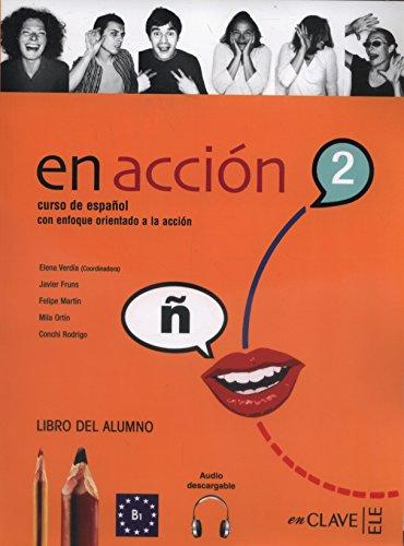 En Acción 2 - Libro del alumno (código para descargar contenido audio online)