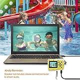 Pellor Kinder 3M Wasserdicht Staubdicht Unterwasser Sport Minikamera, 2 Zoll HD-Bildschirm Digitalkamera - 5