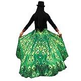Frau Schal Kolylong® Frauen 197*125CM Chiffon weichen Stoff Schmetterling Flügel Schal Kostüm Zu (Grün)