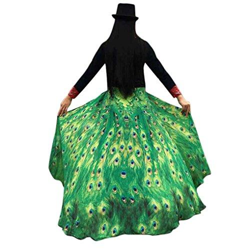 Frau Schal Kolylong® Frauen 197*125CM Chiffon weichen Stoff Schmetterling Flügel Schal Kostüm Zu (Grün) (Frau Fee Kostüme)