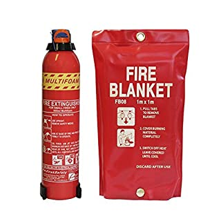Kitchen Fire Safety Pack