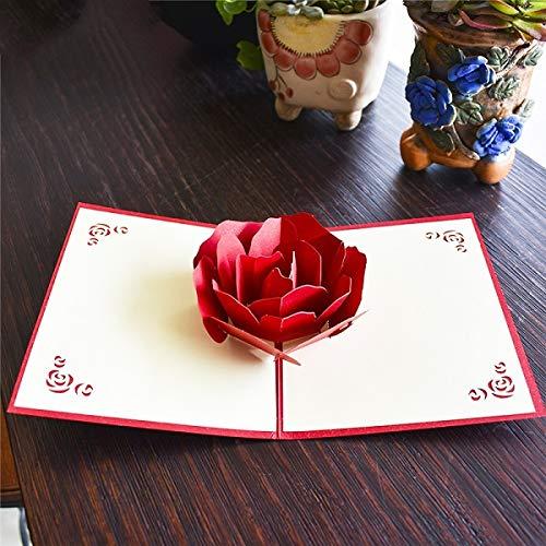 westtreg Amour 3D Pop UP Cartes ...