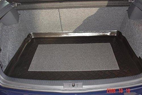 Kofferraumwanne mit Anti-Rutsch passend für VW Golf 5 10/2003- Kofferraum mit Ersatzrad