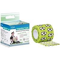 Höga Fingerflex breit, Fußball, Sonderedition, 5 cm x 4.5 m gedehnt, Selbsthaftende Pflaster Bandage, elastisch... preisvergleich bei billige-tabletten.eu