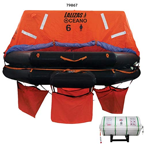 Radeau de survie Lalizas SOLAS Oceano 6 places