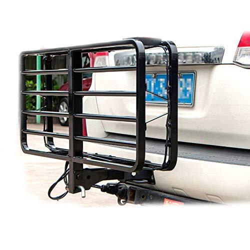 BLLJQ Portabagagli Cestino Auto, Molto Capiente, Utile Durante I Lunghi Viaggi per di Traino Car Portabici Portapacchi (Carico 160Kg)