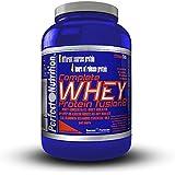 Perfect Nutrition Complete Whey Fusion 8 Complément Alimentaire Fraise 2270 g