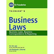 Business Laws - Business Law, Business Correspondence & Reporting (CA-Foundation)