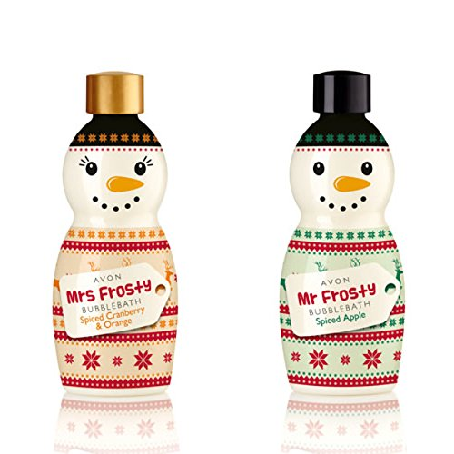 Mr and Mrs Frosty Bubble Baths