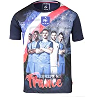 Maillot Team FFF - Collection officielle Equipe de France de Football - Taille enfant garçon