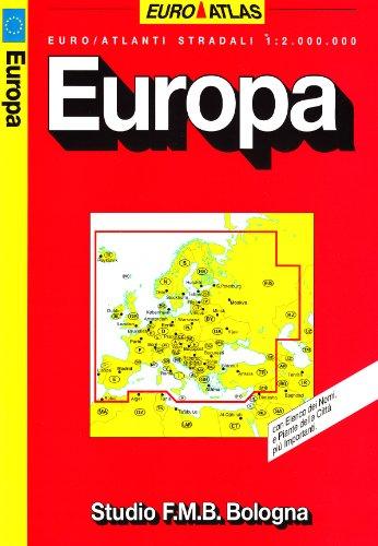 Europa 1:2.000.000 (Euro Atlas) por aa.vv.