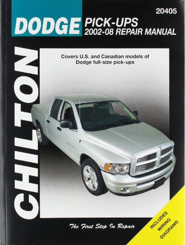 Dodge Pick-Ups 2002-08: Covers U.S and Canadian models of Dodge full-size (Chilton's Total Car Care Repair Manual) (Covers Dodge Truck)