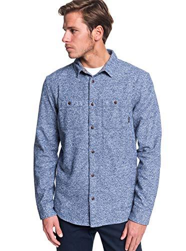 Quiksilver - Camisa Manga Larga - Hombre - XL - Azul