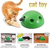 Gorgeousy Neuheiten Pop N Play Katzenspielzeug, um 360 ° drehbar, elektronisch...