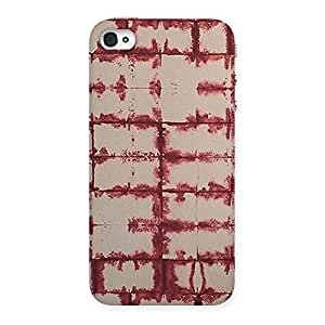 Enticing Brick Wall Vintage Back Case Cover for iPhone 4 4s
