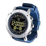 WAZA Herren Uhr Digital Digital mit Silikon Armband S6609928