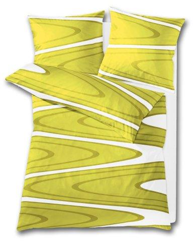 Bettwäsche Vanity (Kleine Wolke 6044605954 Bettwäsche Vanity 155 x 220 cm und 80 x 80 cm 2-teilig alge)