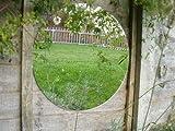 Primrose Acryl Gartenspiegel - einfache Spiegelscheibe - Rund (40cm)