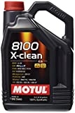 Motul (2051) 8100 X-Clean 5W-40 Synthetic Engine Oil, 5 Liter by Motul