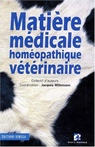 Matière médicale homéopathique vétérinaire