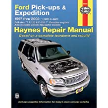 Ford Pick Ups & Expedition, 1997-2002: 1997 to 2002 (HAYNE'S AUTOMOTIVE REPAIR MANUAL)
