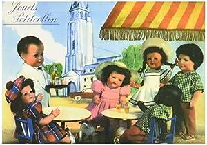 "Petitcollin 10,5 x 15 cm""au Bistro"" Postal"