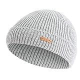 Cebbay Chapeau Homme Bonnet,Chaud Casquette Chic Baggy Chapeaux Doux Ski Tricot De Laine Headwear Béret,Hiver Turban Beanie Hats Cap Liquidation