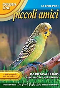 Living Pet Foods Budgie Seeds Mix from FRANCHI SEEDS OF ITALY 1783