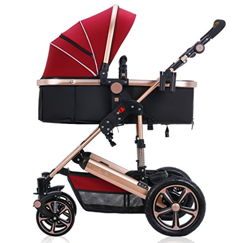 Anna Baby Stroller Travel System Baby Stroller High Landscape Can Sit Can Lie Down   Children Trolley Winter And Summer Dual Use Lightweight Baby Carriage Adjustable Pushchair stroller 51P7aGkgYhL