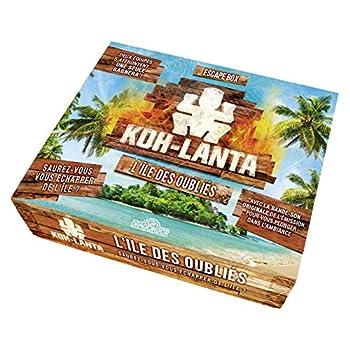 Escape Box - Koh-Lanta - L'île des oubliés